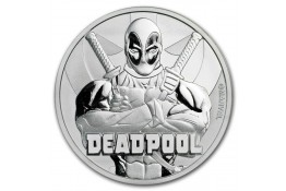 1$ Dollar-Tuvalu-1 oz.-Serie Marvel-Deadpool-2018