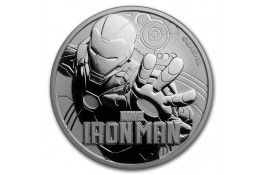 1$ Dollar-Tuvalu-1 oz.-Serie Marvel-Ironman-2018