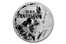 1$ Dollar-Tuvalu-1 oz.-Serie Marvel-Black Panther-2018