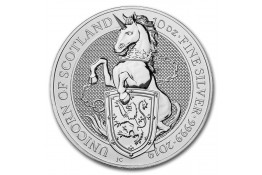 10£ Libras-U.K.-10 oz.-Unicornio-Serie Queen's Beasts-2019