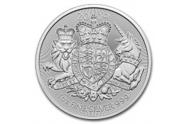 2£ Libras-U.K-1 oz. Royal Arms-2019